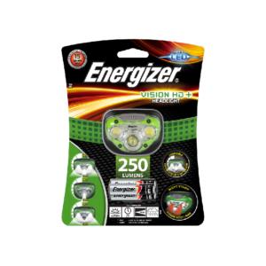 Energizer HL Vision HD+ Pandelygte 250 lumen