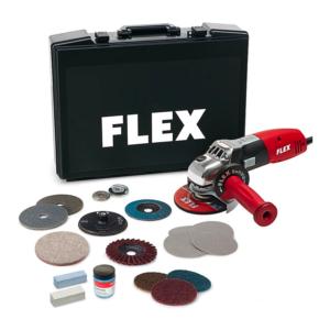 FLEX Vinkelsliber LE14-7 125mm INOX-sæt