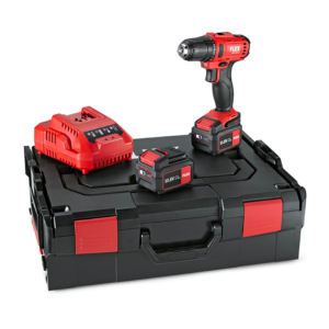 FLEX DD 2G 10-LD + 2 stk. 4,0 amp. Batterier + lader