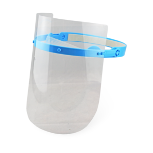 Face Shield - Klart Ansigtsvisir inkl. 3 PET Visir