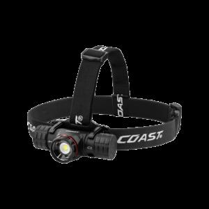 Coast XPH34R Genopladelig pandelampe