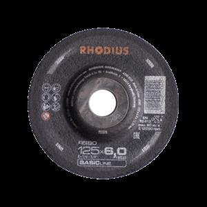Rhodius RS80 Stål-Skrubskive 125x6x22,23mm