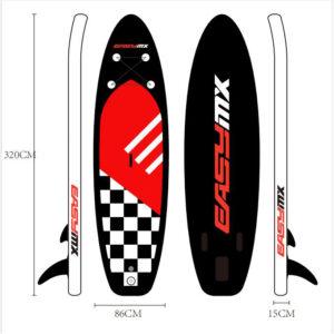 EASYMX Oppusteligt paddleboard