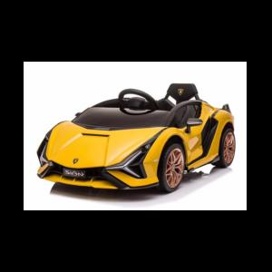 Lamborghini Sian Elektrisk Ride-on Gul
